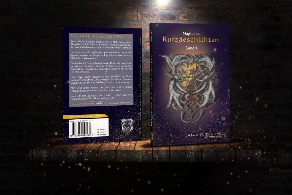 Abbildung des Buches 'Magische Kurzgeschichten' (Schwarzer Drachen Verlag)