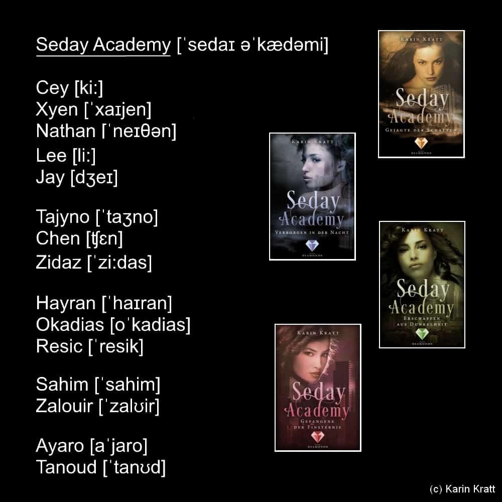 Aussprache Seday Academy