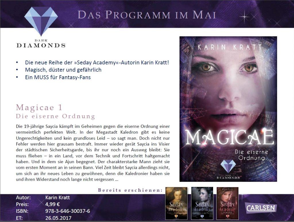 Magicae - Carlsen Programmvorschau