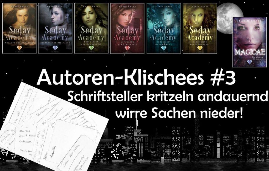 Autoren-Klischees #3