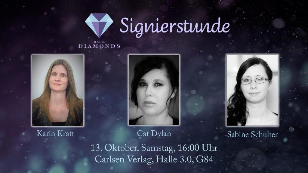 Signierstunde auf der Frankfurter Buchmesse mit Karin Kratt