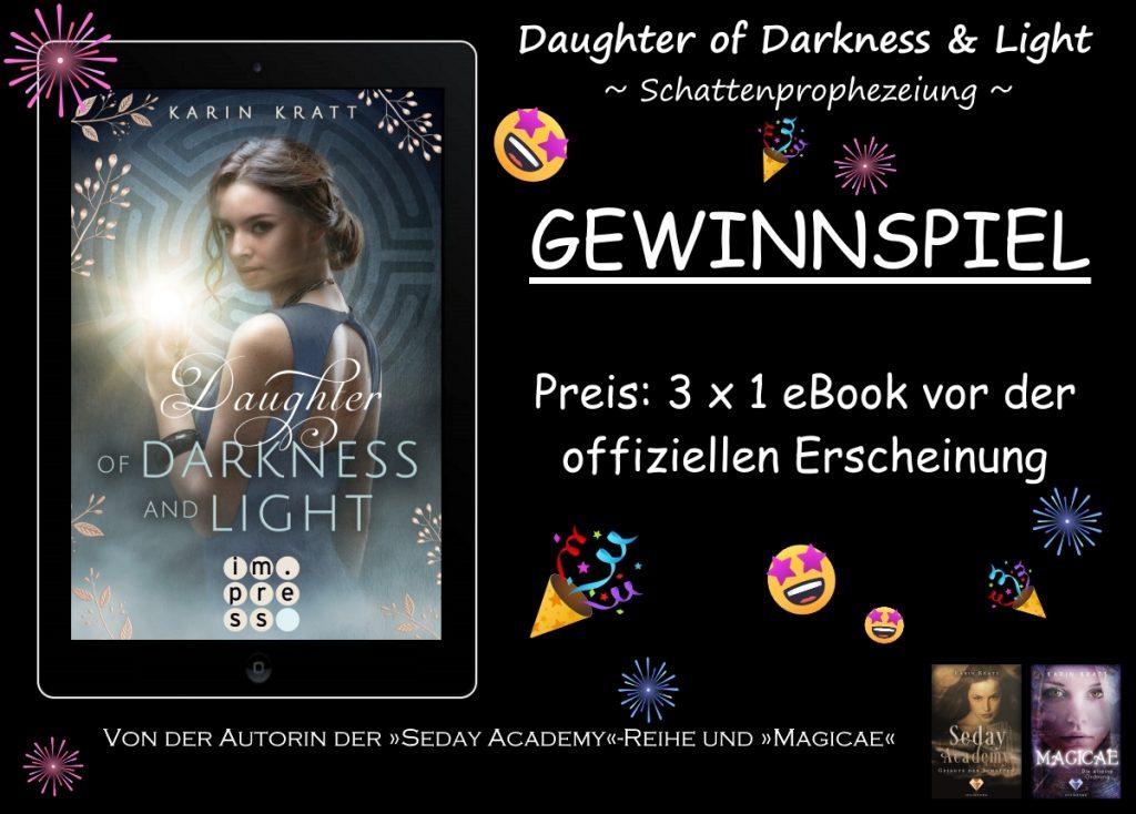 "Gewinnspiel zu ""Daughter of Darkness and Light"""