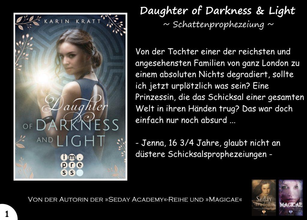 """Gewinnspiel zu """"Daughter of Darkness and Light"""" Tag 1"""