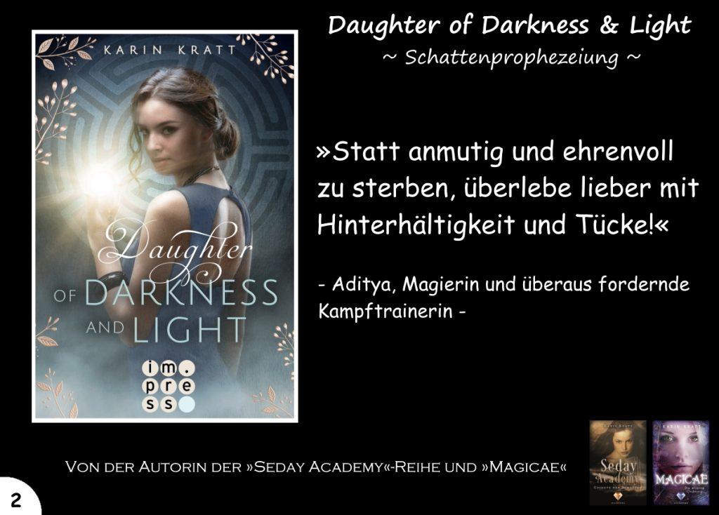 """Gewinnspiel zu """"Daughter of Darkness and Light"""" Tag 2"""