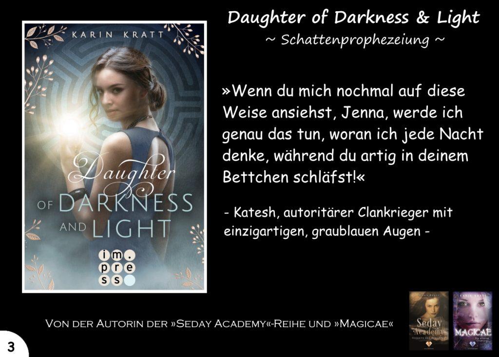 """Gewinnspiel zu """"Daughter of Darkness and Light"""" Tag 3"""