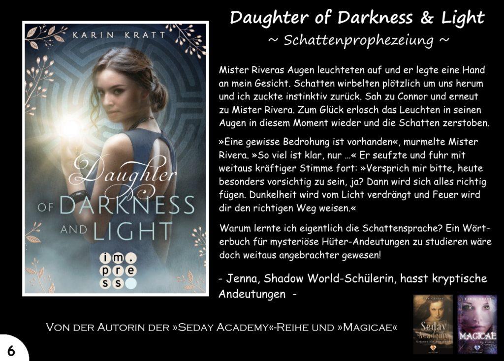 """Gewinnspiel zu """"Daughter of Darkness and Light"""" Tag 6"""