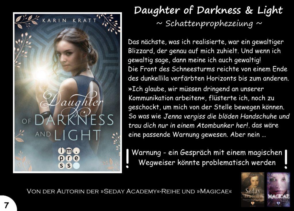 """Gewinnspiel zu """"Daughter of Darkness and Light"""" Tag 7"""