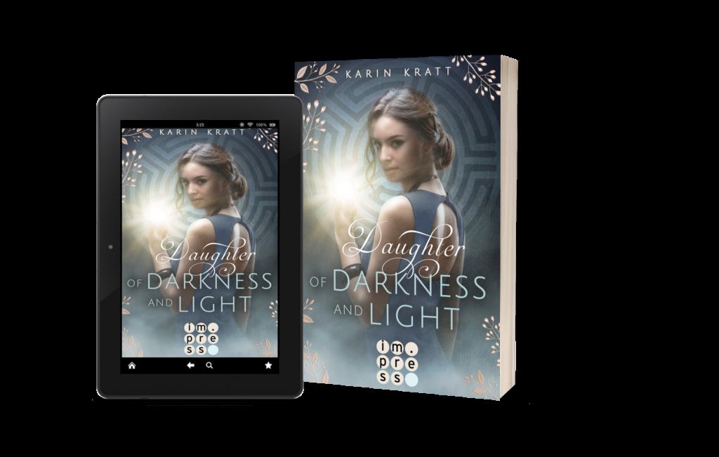 Daughter of Darkness and Light von Autorin Karin Kratt