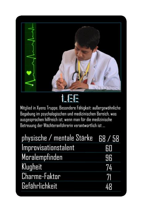 Seday Academy Kartenspiel: Lee