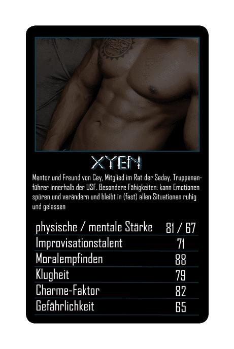 Seday Academy Kartenspiel: Xyen