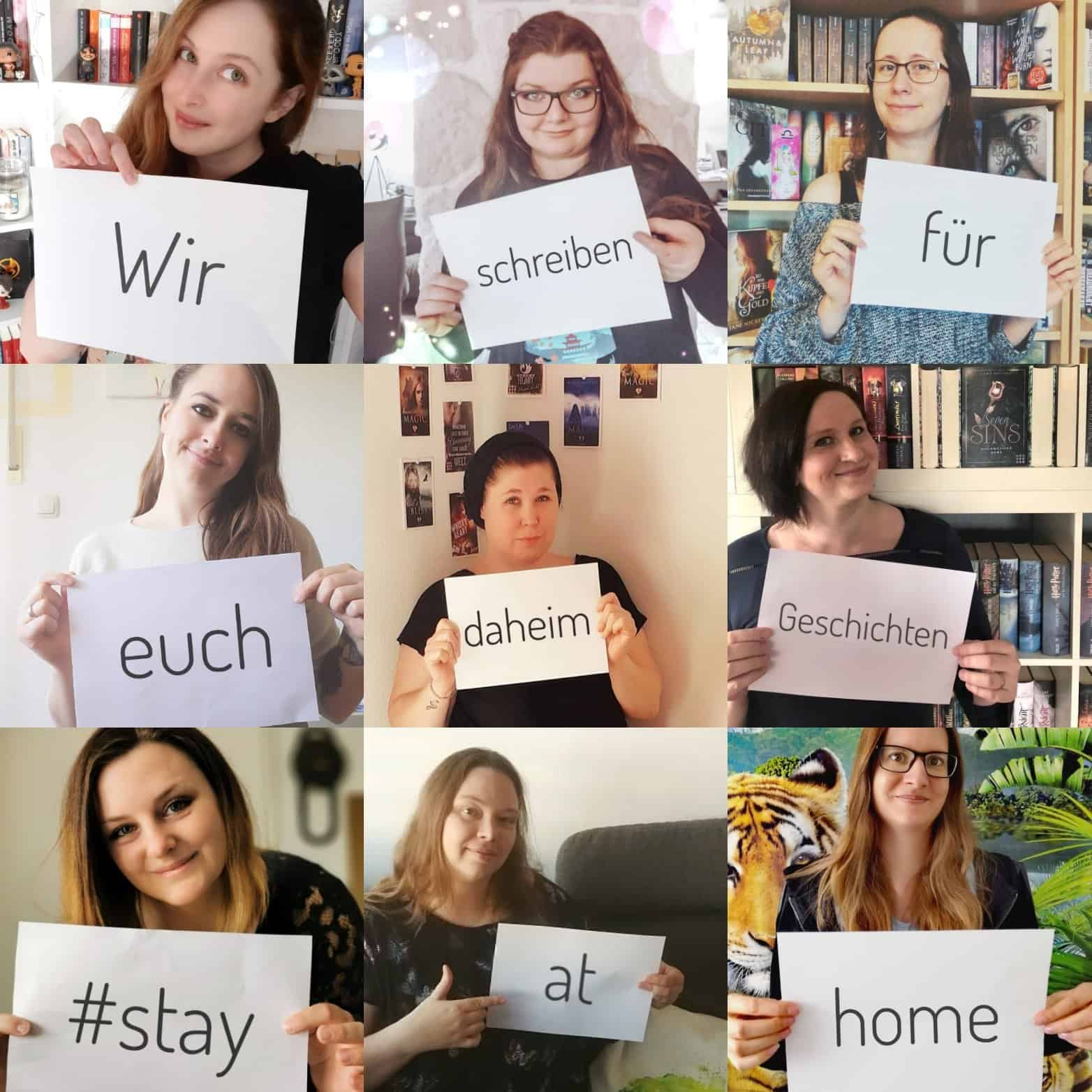 #stayathome Autorenaktion