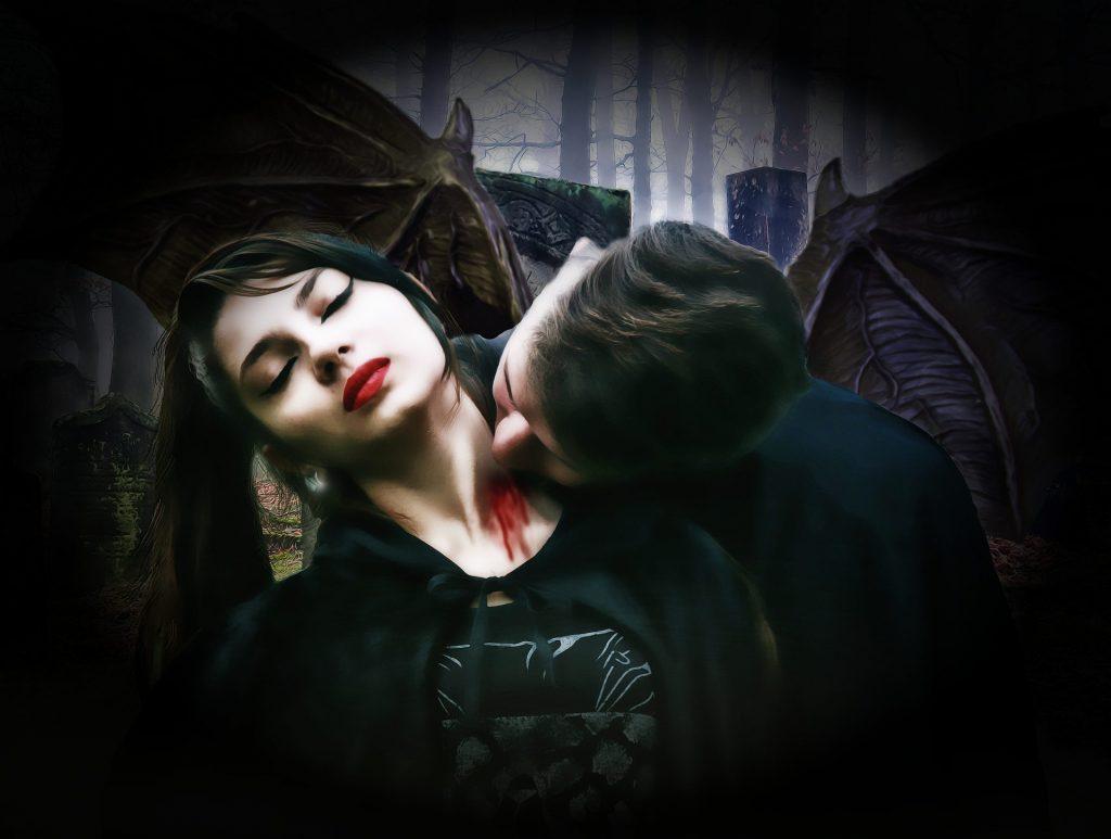 Hungriger Vampir ...