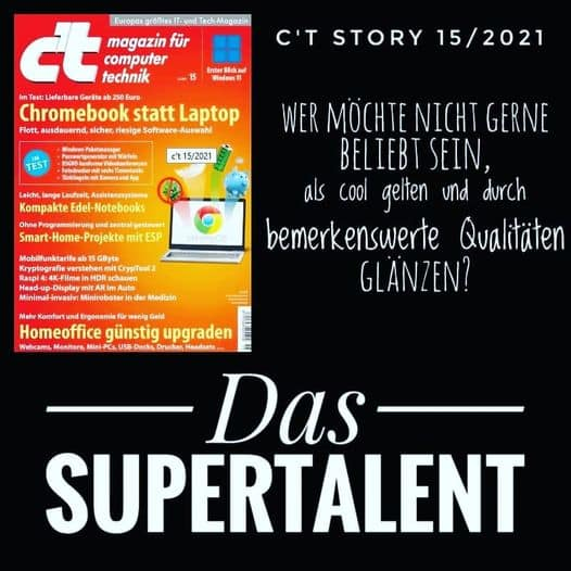c't Magazin Das Supertalent
